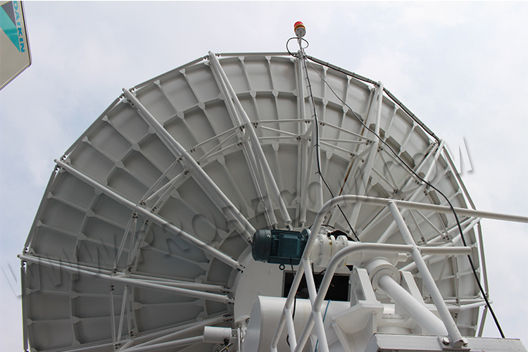 6 2 Meter High Wind Resistance Antenna-Earth Station antenna